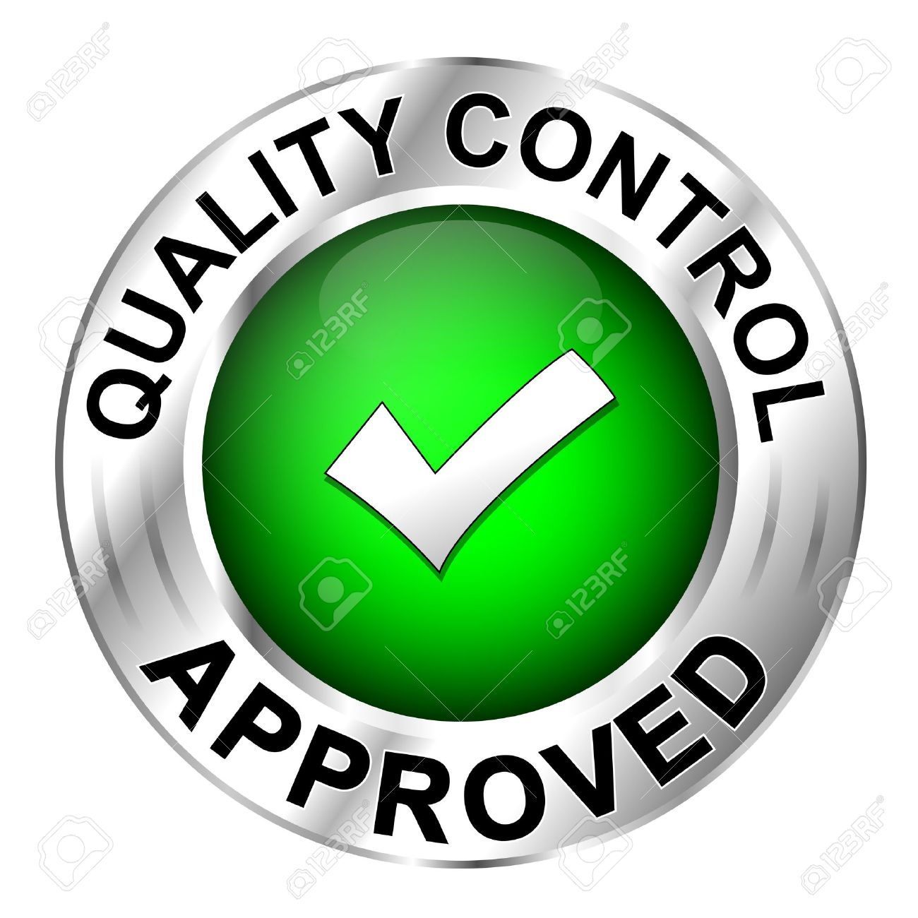 21322396-Icon-quality-control-approved-Stock-Vector